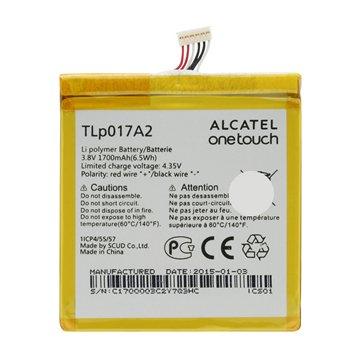 باتری اورجینال آلکاتل TLp017A2 ظرفیت 1700 میلی آمپر ساعت-1