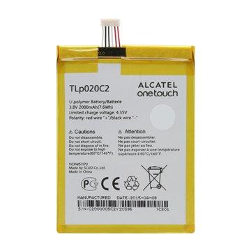 باتری اورجینال آلکاتل TLp020C2 ظرفیت 2000 میلی آمپر ساعت-1