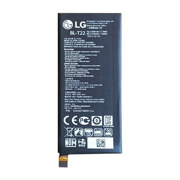 باتری اورجینال ال جی H650E Zero مدل BL-T22 ظرفیت 2050 میلی آمپر ساعت