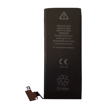 باتری اورجینال اپل آیفون 4 ظرفیت 1430 میلی آمپر ساعت - 1