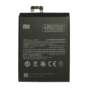 باتری اورجینال شیائومی Mi Max 2 مدل BM50 ظرفیت 5200 میلی آمپر ساعت