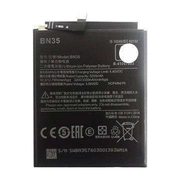 باتری اورجینال شیائومی Redmi 5 مدل BN35 ظرفیت 3200 میلی آمپر ساعت-1