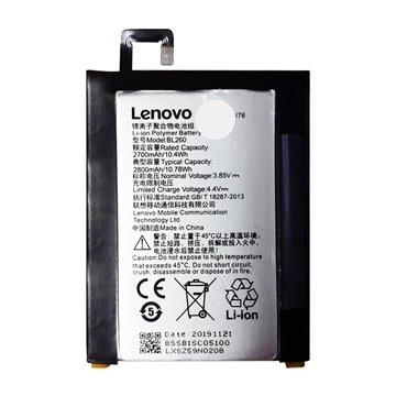 باتری اورجینال لنوو Vibe S1 Lite مدل BL260 ظرفیت 2700 میلی آمپر ساعت-1