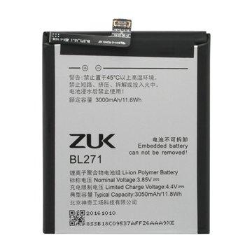 باتری اورجینال لنوو ZUK Edge مدل BL271 ظرفیت 3050 میلی آمپر ساعت-1