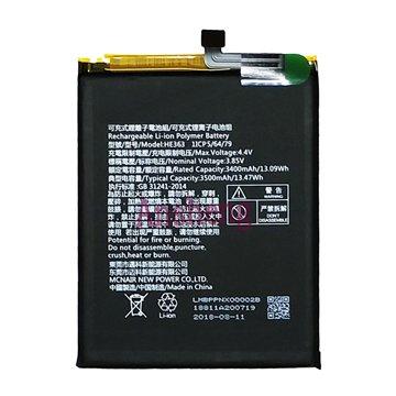 باتری اورجینال نوکیا 8.1 مدل HE363 ظرفیت 3400 میلی آمپر ساعت
