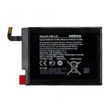 باتری اورجینال نوکیا Lumia 1520 مدل BV-4BW ظرفیت 3400 میلی آمپر ساعت - 1