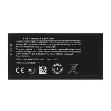 باتری اورجینال نوکیا X2 Dual SIM مدل BV-5S ظرفیت 1800 میلی آمپر ساعت - 1