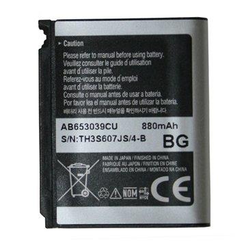 باتری سامسونگ AB653039CU ظرفیت 880 میلی آمپر ساعت - 1