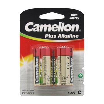 باتری سایز C کملیون مدل Plus Alkaline LR14 بسته 2 عددی - 1