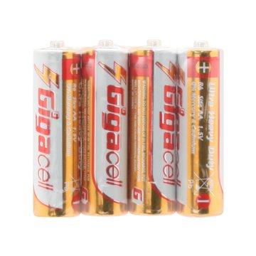 باتری قلمی گیگاسل مدل Ultra Heavy Duty R6-4S بسته 4 عددی-1