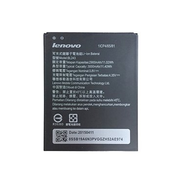 باتری لنوو A7000 مدل BL243 ظرفیت 3000 میلی آمپر ساعت - 1