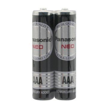 باتری نیم قلمی پاناسونیک مدل R03NT بسته 2 عددی-1