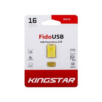 فلش مموری کینگ استار مدل KS218 Fido ظرفیت 16 گیگابایت - 1