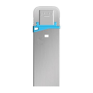 فلش مموری OTG USB 3.0 امتک مدل S220 ظرفیت 32 گیگابایت - 1