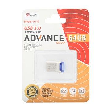فلش مموری USB 3.0 ادونس مدیا مدل A110 ظرفیت 64 گیگابایت - 1