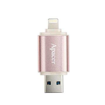 فلش مموری USB 3.1 و لایتنینگ اپیسر مدل AH190 ظرفیت 64 گیگابایت - 1