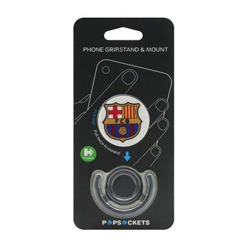 پاپ سوکت فشن طرح تیم بارسلونا همراه با نگهدارنده