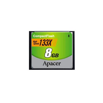 کارت حافظه CF اپیسر 133X ظرفیت 8 گیگابایت - 1