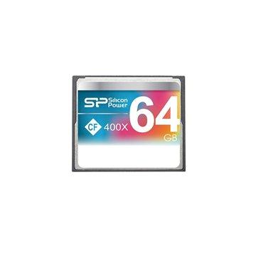 کارت حافظه CF سیلیکون پاور 400X مدل Compact ظرفیت 64 گیگابایت - 1