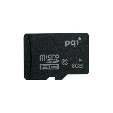 کارت حافظه Micro SDHC پی کیو آی ظرفیت 8 گیگابایت کلاس 6 - 1
