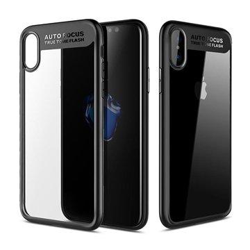 کاور راک مدل Clarity اپل آیفون X / XS - 1