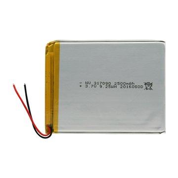 باتری 3.7 ولت اورجینال مدل 317090 ظرفیت 2500 میلی آمپر ساعت-1