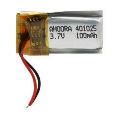 باتری 3.7 ولت اورجینال مدل 401025 ظرفیت 100 میلی آمپر ساعت-1
