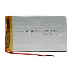 باتری 3.7 ولت اورجینال مدل 405696 ظرفیت 3000 میلی آمپر ساعت-1