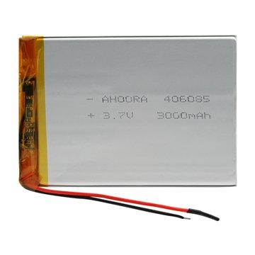 باتری 3.7 ولت اورجینال مدل 406085 ظرفیت 3000 میلی آمپر ساعت-1