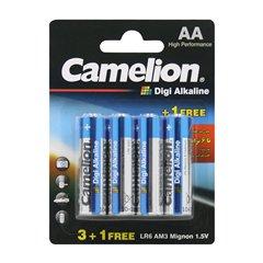 باتری قلمی کملیون مدل Digi Alkaline LR6 بسته 4 عددی - 1