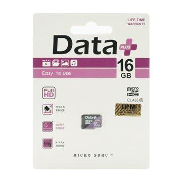 کارت حافظه Micro SDHC دیتا پلاس ظرفیت 16 گیگابایت کلاس 10 - 1