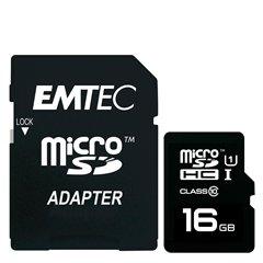 کارت حافظه Micro SDHC GOLD امتک مدل GOLD استاندارد UHS-I ظرفیت 16 گیگابایت کلاس 10 با آداپتور - 1