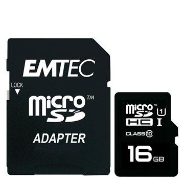 کارت حافظه Micro SDHC GOLD امتک مدل GOLD استاندارد UHS-I ظرفیت 16 گیگابایت کلاس 10 با آداپتور