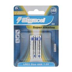باتری نیم قلمی گیگاسل مدل Super Alkaline LR03 بسته 2 عددی-1