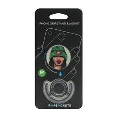 پاپ سوکت فشن طرح Green hat همراه با نگهدارنده