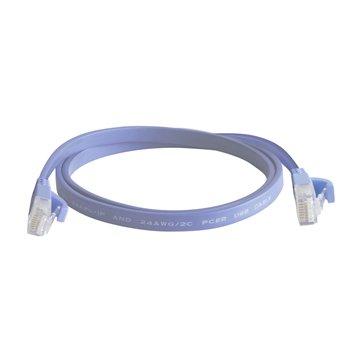 کابل شبکه فلت هویت مدل HV-CAT6 طول 1.5 متر