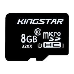 کارت حافظه Micro SDHC کینگ استار BULK استاندارد U1 ظرفیت 8 گیگابایت کلاس 10 - 1