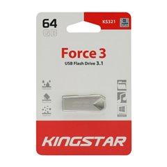 فلش مموری USB 3.1 کینگ استار مدل KS321-Force3 ظرفیت 64 گیگابایت