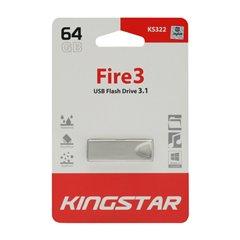 فلش مموری USB 3.1 کینگ استار مدل KS322-Fire3 ظرفیت 64 گیگابایت