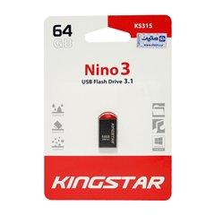 فلش مموری کینگ استار مدل Nino 3 KS315 ظرفیت 64 گیگابایت