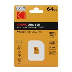 کارت حافظه Micro SDXC کداک استاندارد UHS-I U1 ظرفیت 64 گیگابایت کلاس 10 - 1