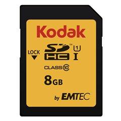 کارت حافظه SDHC کداک استاندارد UHS-I U1 ظرفیت 8 گیگابایت کلاس 10 - 1