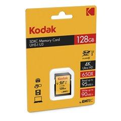 کارت حافظه SDXC کداک استاندارد UHS-I U3 ظرفیت 128 گیگابایت کلاس 10 - 1
