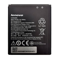 باتری اورجینال لنوو A3600 مدل BL233 ظرفیت 1700 میلی آمپر ساعت