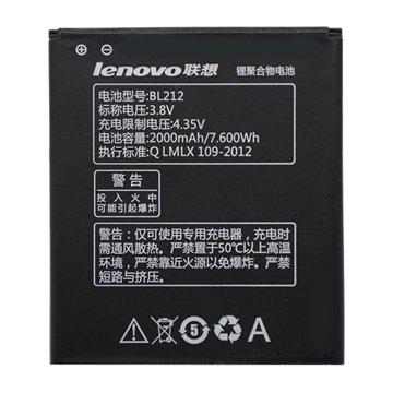 باتری اورجینال لنوو BL212 ظرفیت 2000 میلی آمپر ساعت