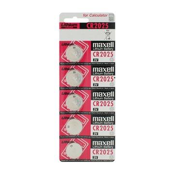 باتری سکه ای مکسل مدل CR2025 بسته 5 عددی - 1