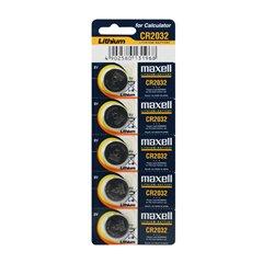باتری سکه ای مکسل مدل CR2032 بسته 5 عددی - 1