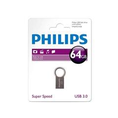 فلش مموری USB 3.0 فیلیپس مدل Circle ظرفیت 64 گیگابایت - 1