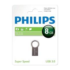 فلش مموری USB 3.0 فیلیپس مدل Circle ظرفیت 8 گیگابایت - 1