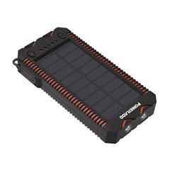 پاوربانک خورشیدی پاور اد مدل MP-3103BK ظرفیت 12000 میلی آمپر ساعت - 1